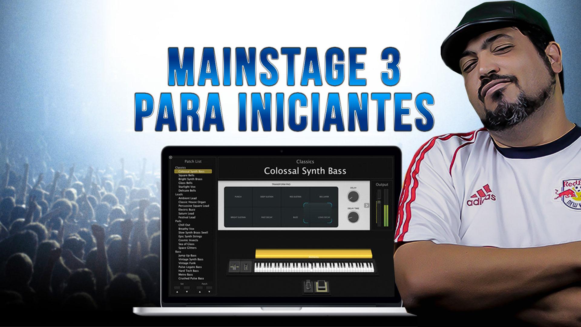 MainStage 3 para iniciantes   Montando o seu layout   Ed Araújo